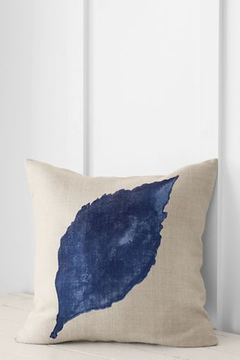 Painted Leaf Decorative Pillow Cover Or Insert From Lands' End Inspiration Lands End Decorative Pillows