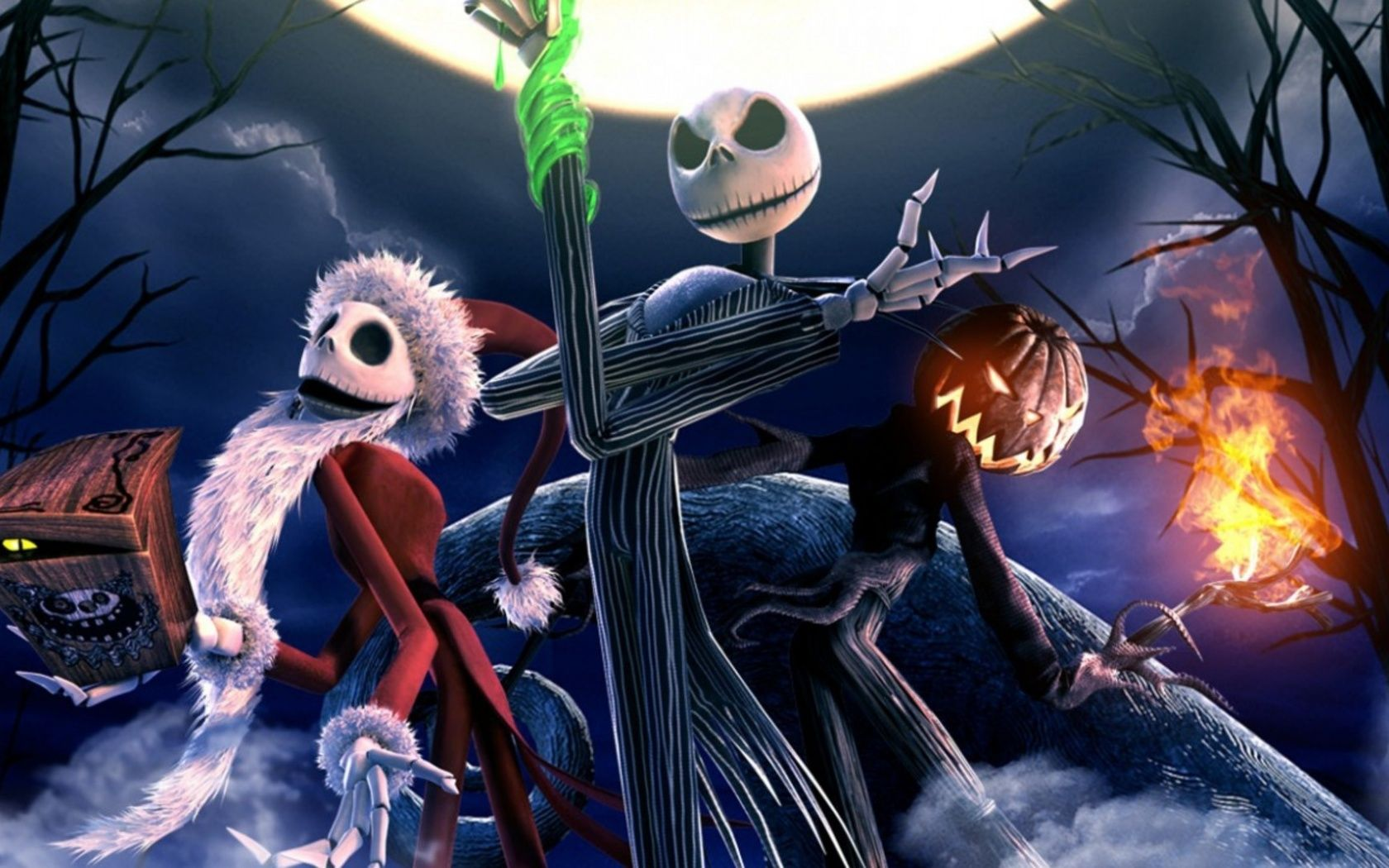 Nightmare Before Christmas 30 Wallpapers Hd Nightmare Before