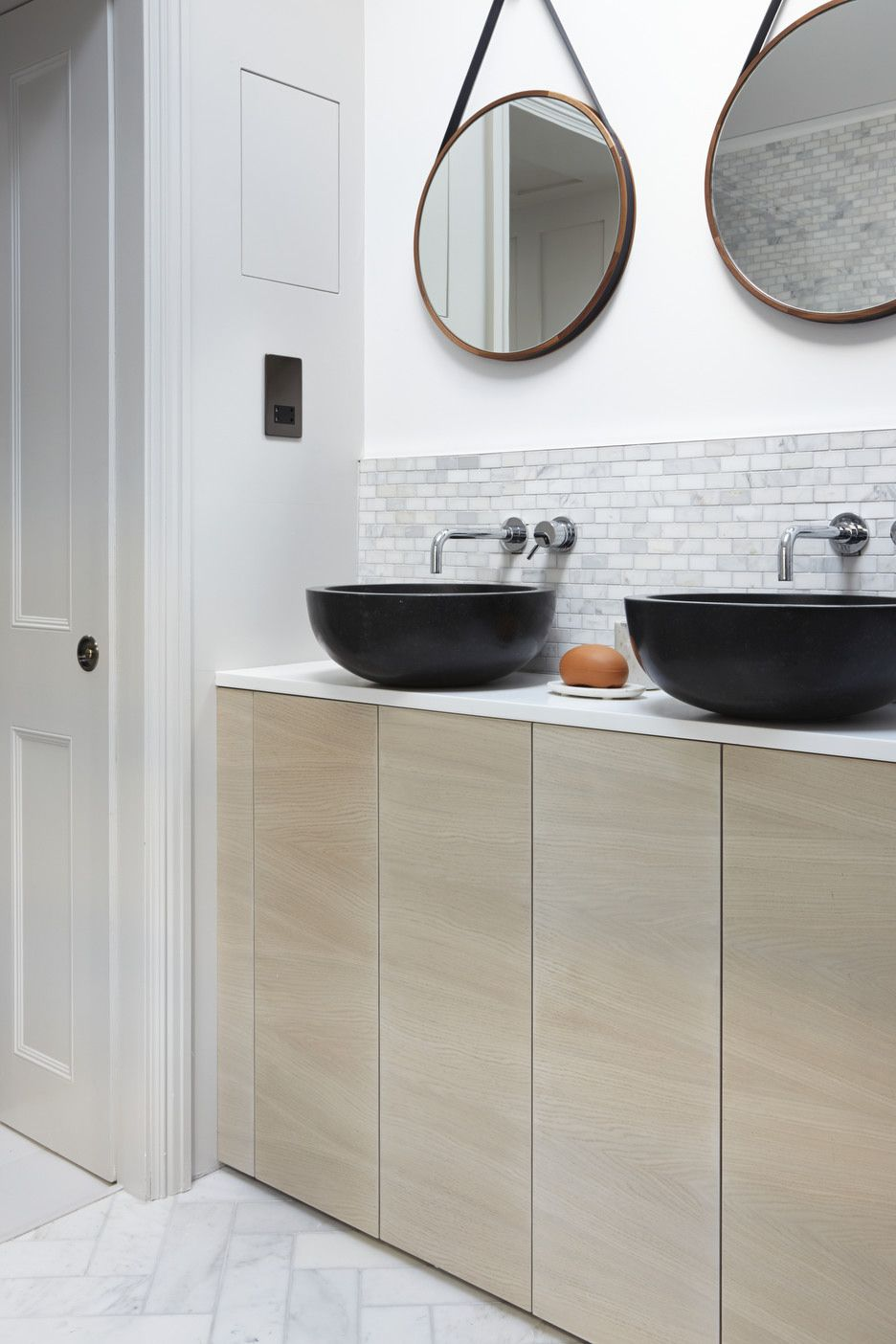 Bathroom Joinery lambeth marsh house | house, joinery and interiors