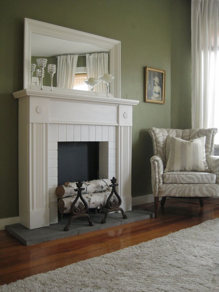 Fake Fireplace Mantle Visit Etsy Com Faux Fireplace White