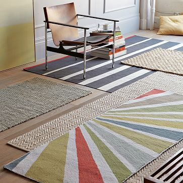 I Really Love The Colors And Shapes Of This Diagonally Striped Rug Herringbone Rug Painted Rug Rugs