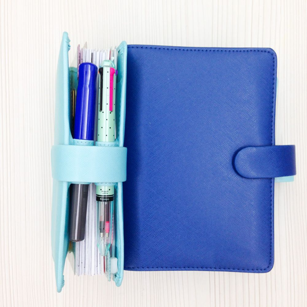 Happie Scrappie Planner Rainbow Personal Sized Free Ship