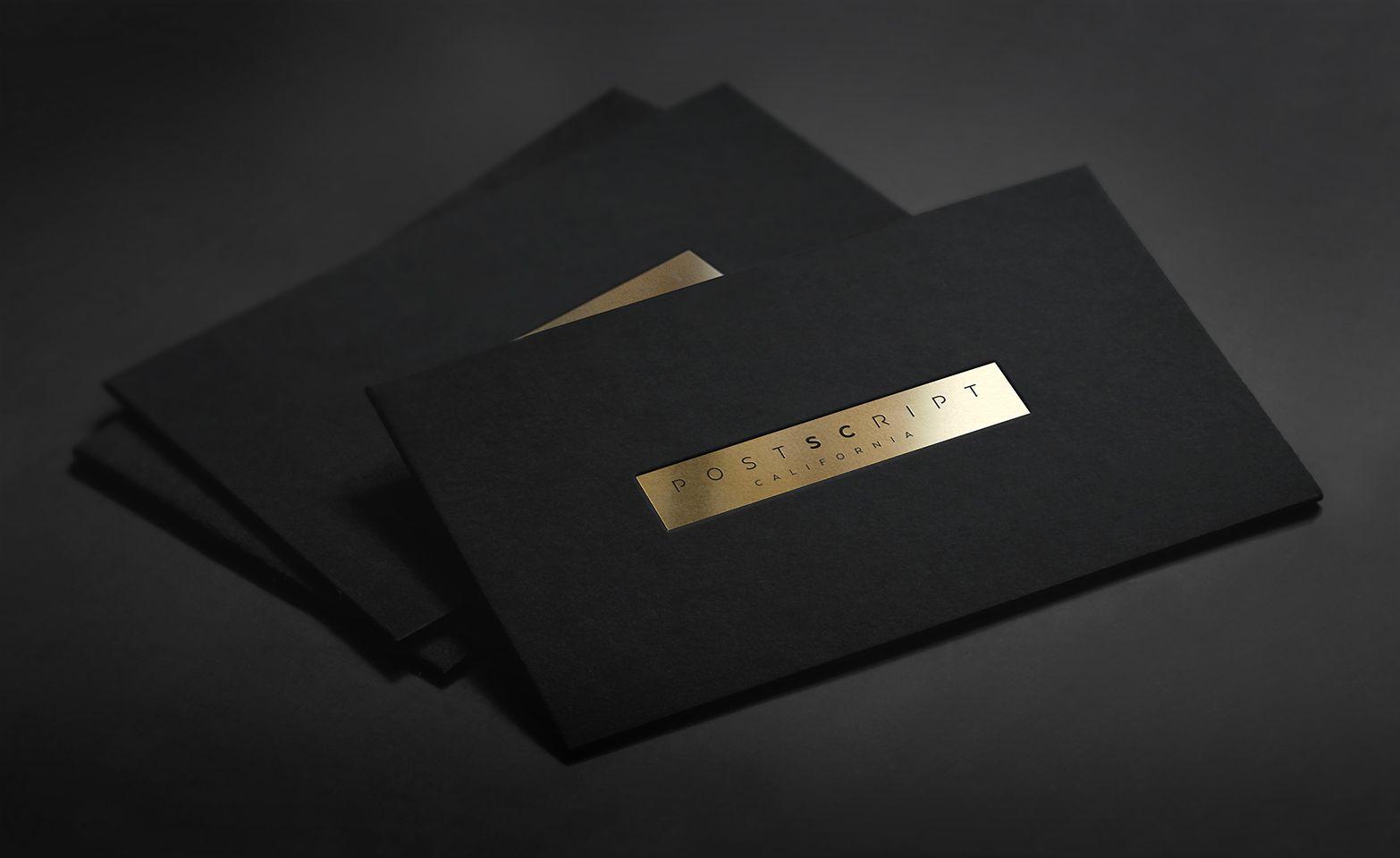 Golden foil business card presentation design branding look golden foil business card presentation design magicingreecefo Image collections