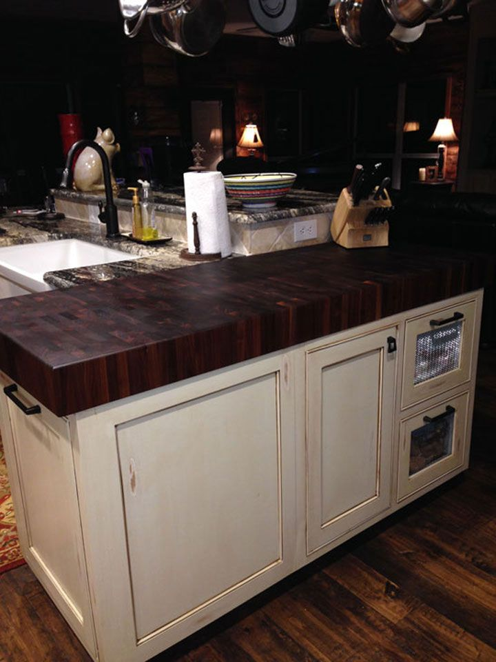 Prefinished Walnut End Grain Butcher Block Countertop Enjoy The