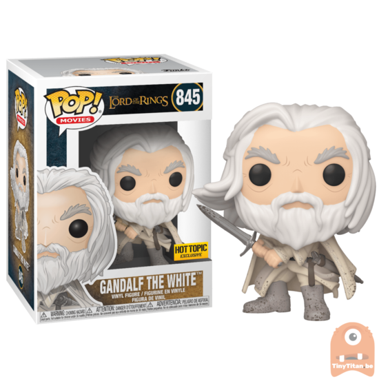 Pop Movies Gandalf The White 845 Lord Of The Rings Excl Funko Pop Lord Of The Rings Gandalf