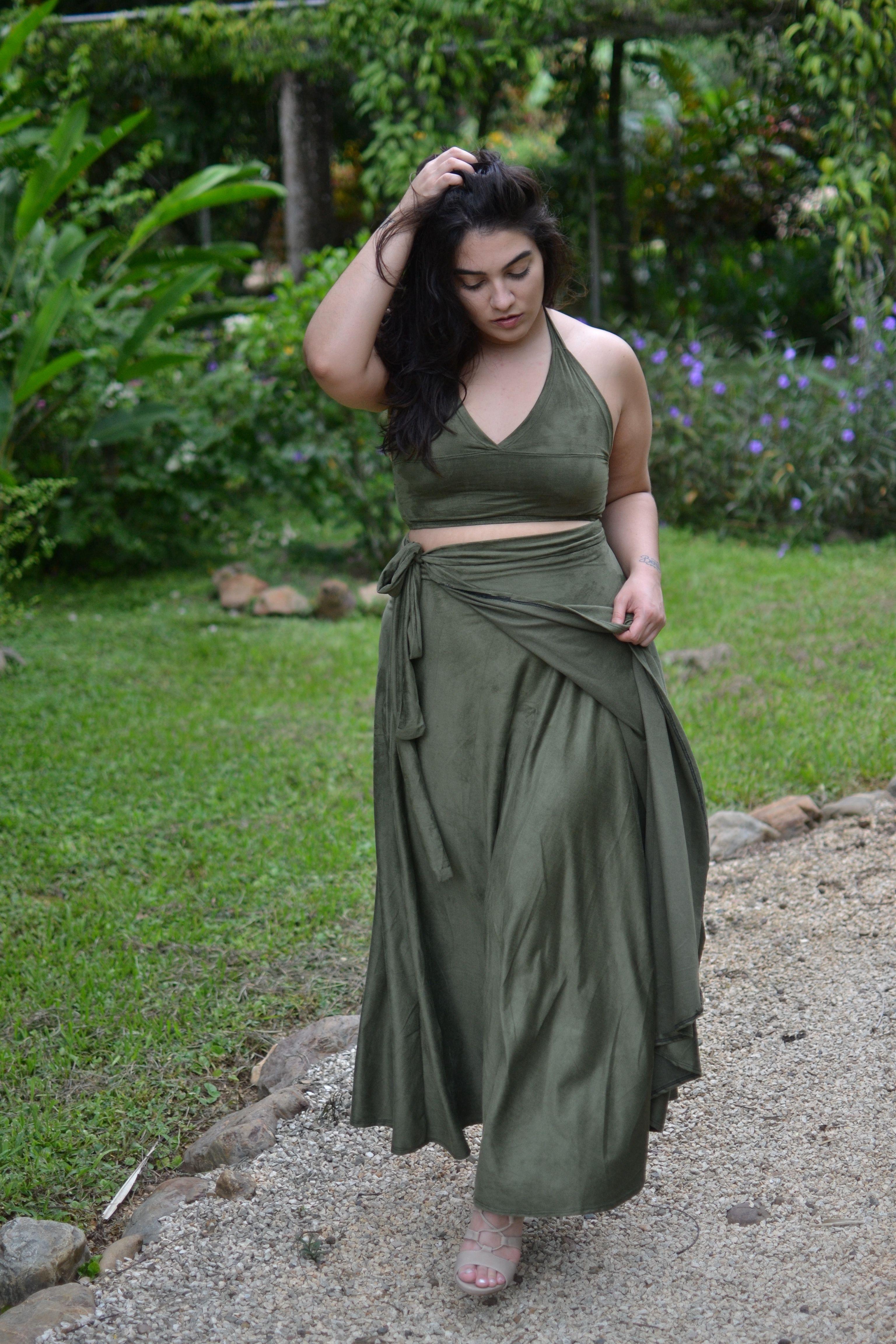 Olive Green 2 Piece Curvy Plus Size Fashion Pinterest Nadia