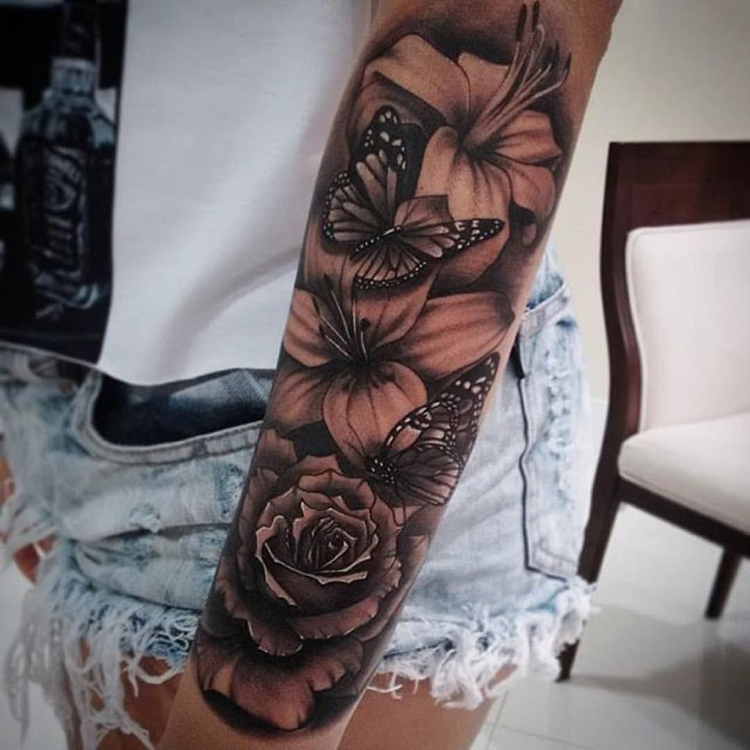 Gefällt 46,46 Mal, 46 Kommentare - ⚡️Electric Ink ... - Tattoo Sleeve Frau
