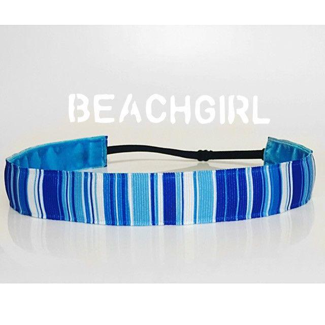 Sea Glass ~  Non Slip Adjustable Headband