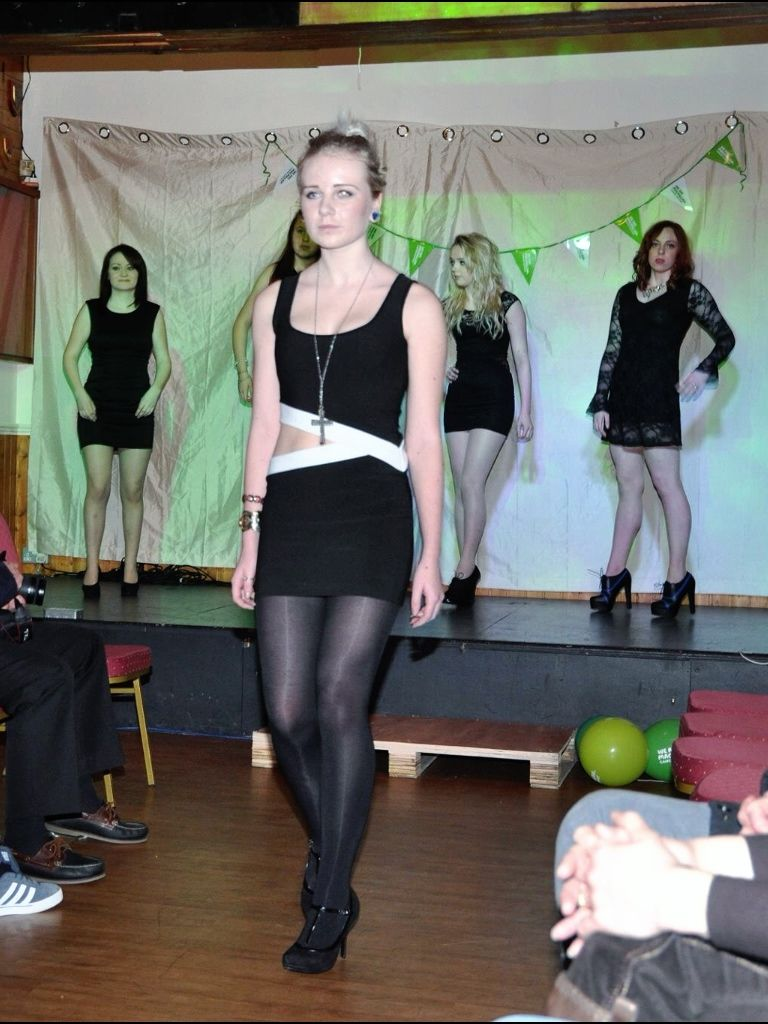 Rebecca warren photography for Macmillan charity fashion show-LBD  #LBD #fashion