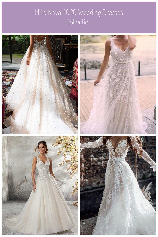 Milla Nova 16 wedding dresses are here! With Milla Nova gorgeous