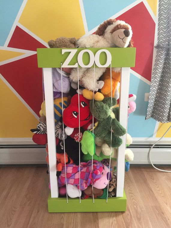 Stuffed Animal Zoo By Shawfamilycrafts On Etsy Christmas Animals Playroom Behr Marquee Paint