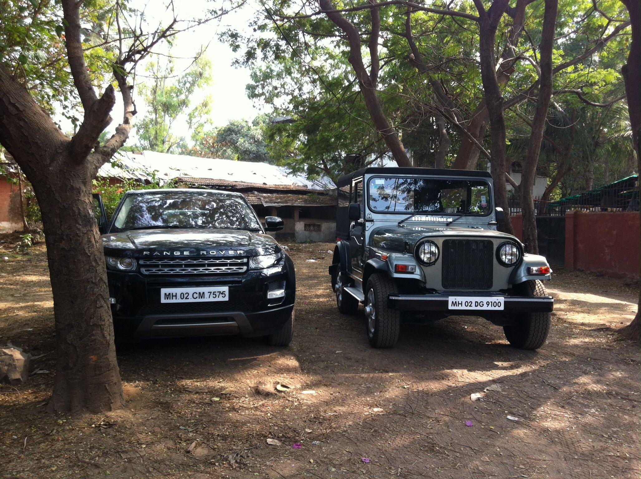 Mahindra Thar Range Rover Evoque Mahindra Thar Range Rover Evoque Jeep