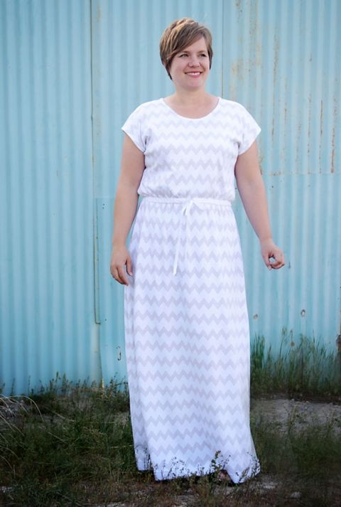 how to sew a maxi dress | Sewing Projects | Pinterest | Anleitungen ...