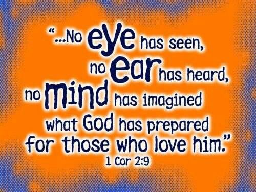 I Cor 2:9