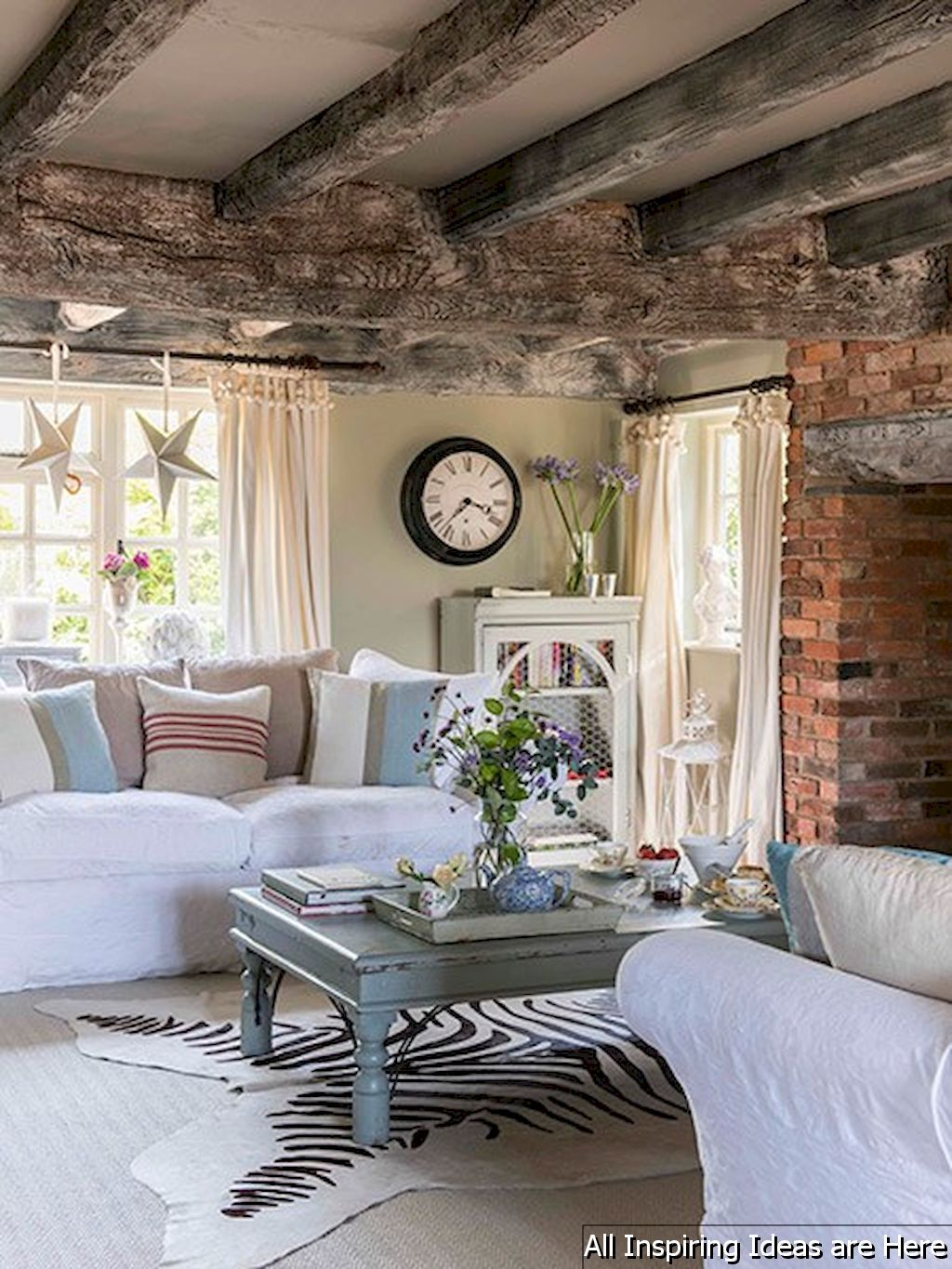 Gorgeous 23 Best Rustic Farmhouse Living Room