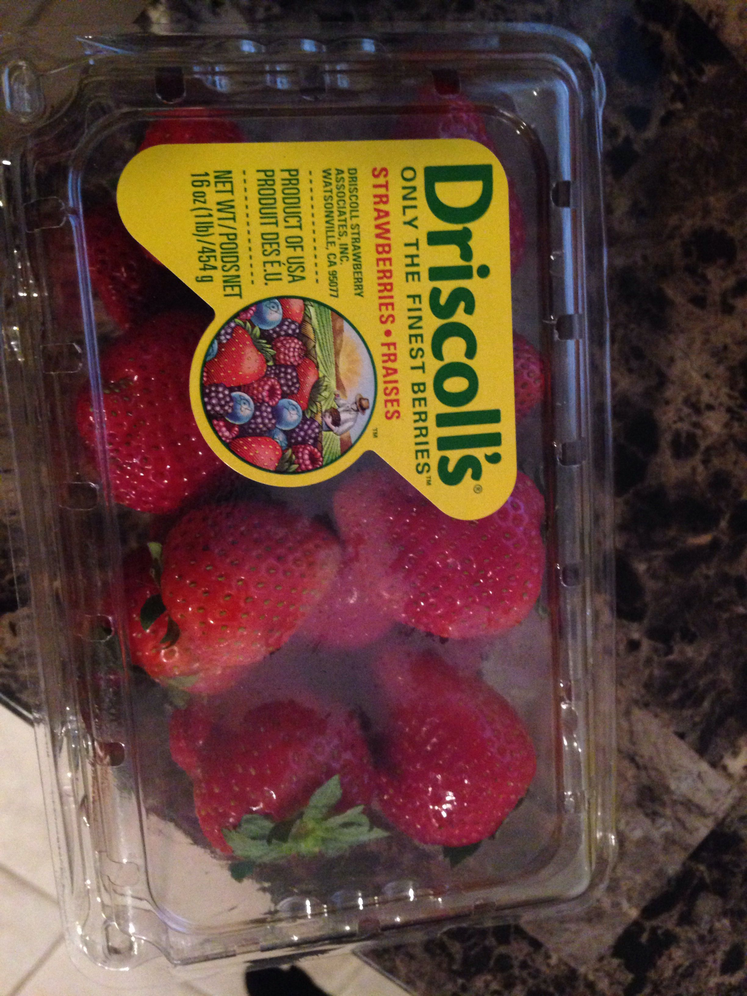Driscoll's Strawberries Snack recipes, Strawberry, Yummy
