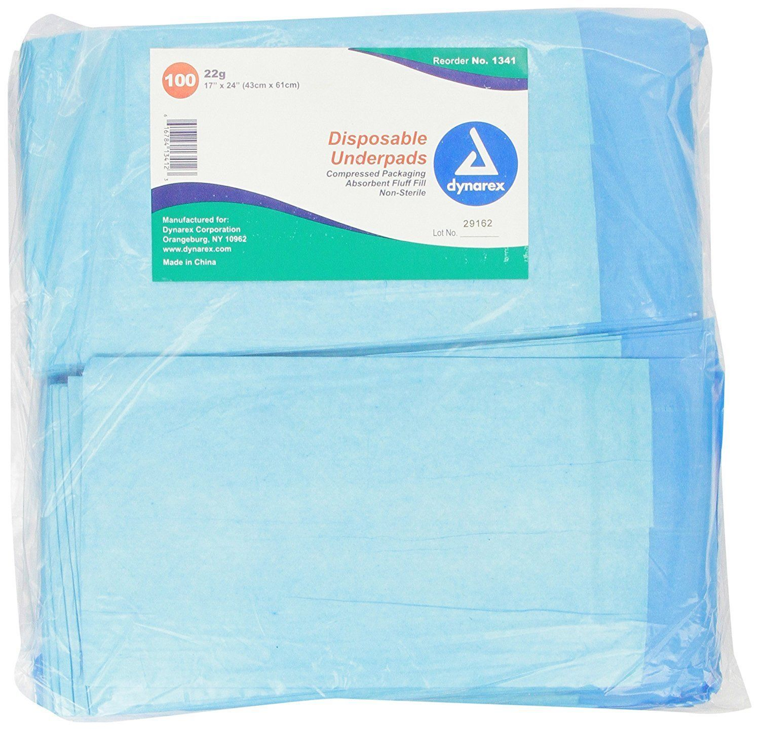 Disposable Underpad 100pcs Waterproof Urinary Incontinence Bed