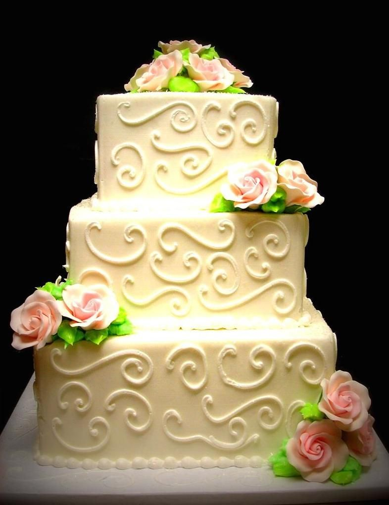 Konrad\'s Bakery in Lake in the Hills offers wedding cakes, mini ...