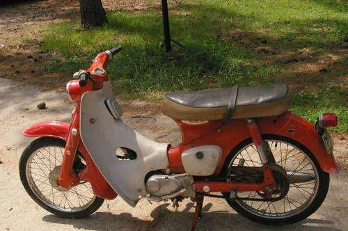 1960 S Honda 50 Honda 50 Vintage Bikes Vintage Motorcycles