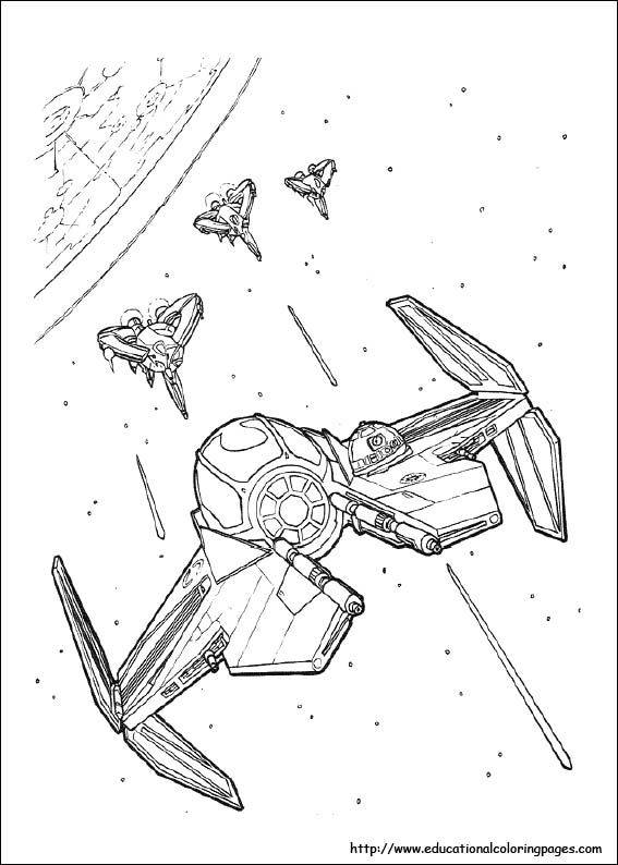 Star Wars Coloring Pages Free For Kids Star Wars Coloring Book