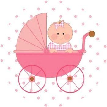 Bebe Y Cochecito Bebe Clipart Etiquetas Baby Shower The Babys