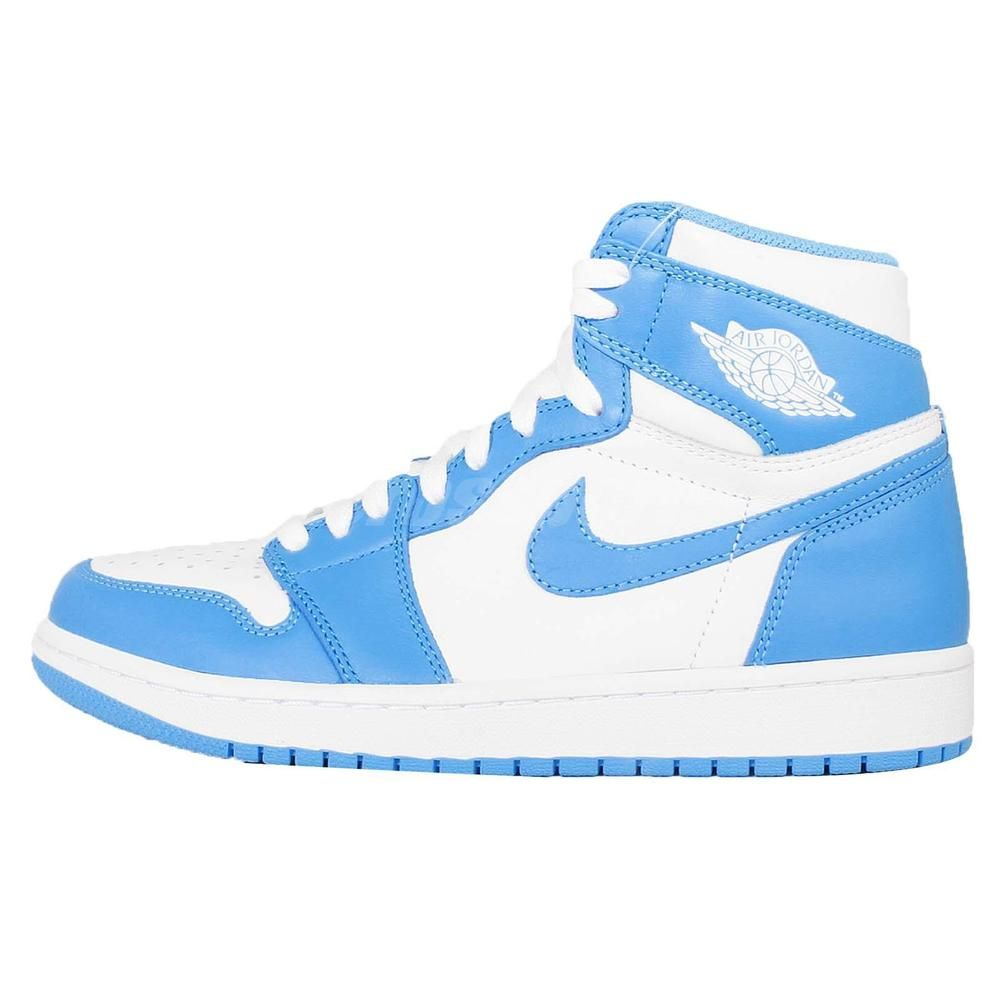 Nike Air Jordan 1 Retro High Og Unc White Powder Blue Sneaker Aj1