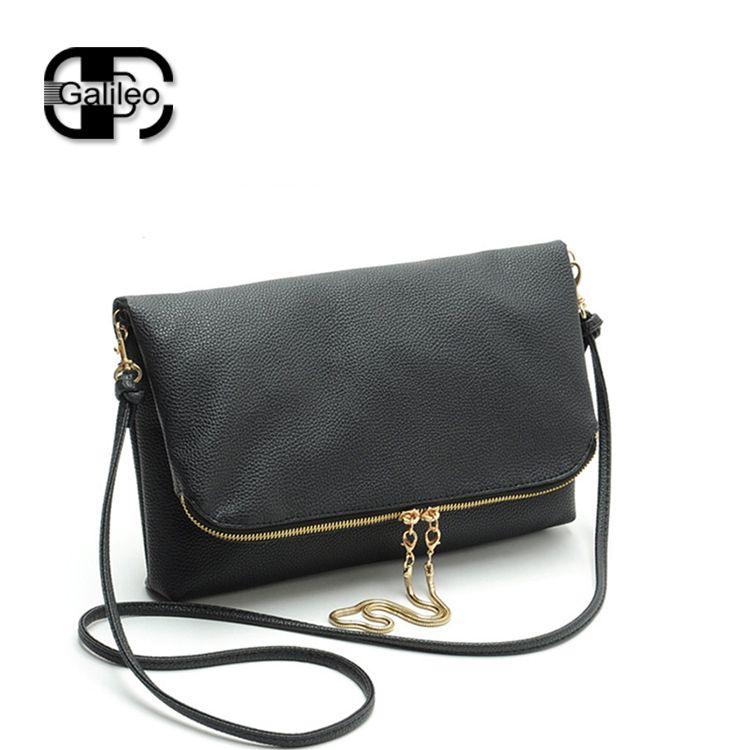 0848097af bolso negro pequeño doblado - Buscar con Google | Define Style ...