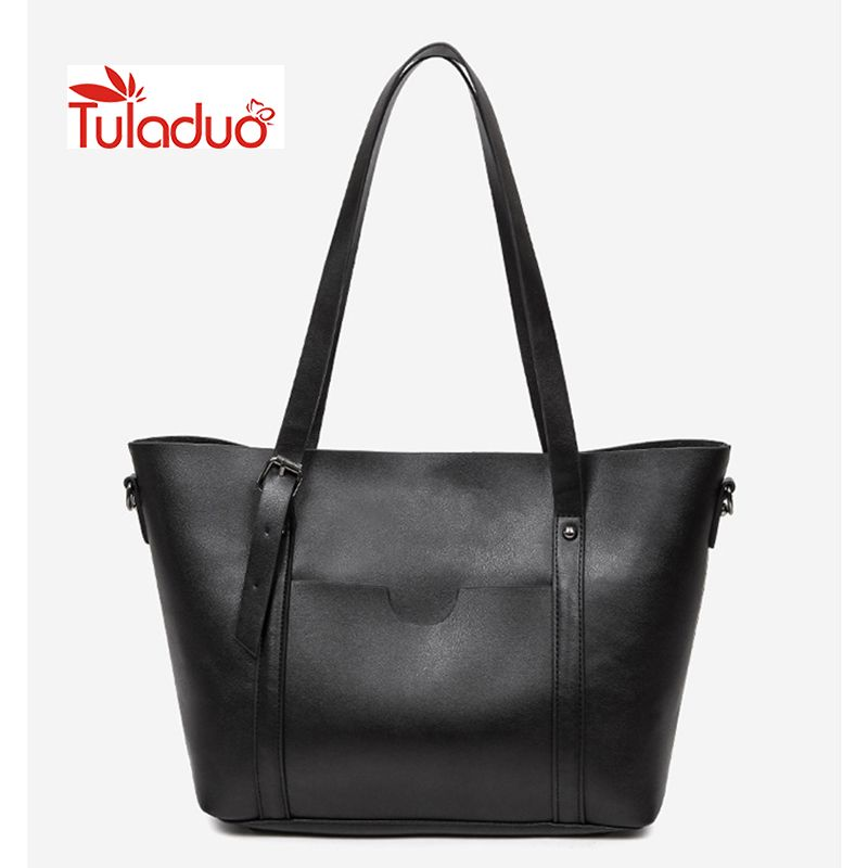 88c07f848abc 2017Fashion Women Bag Leather Handbags Famous Brands Designer Handbag  Bucket Bag Female Shoulder Bags