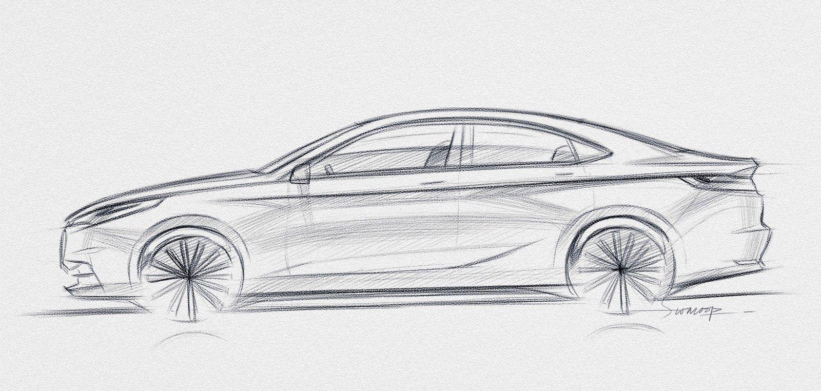 Swaroop Roy   Representation Automobile   Pinterest   Car Sketch Sketches And Cars
