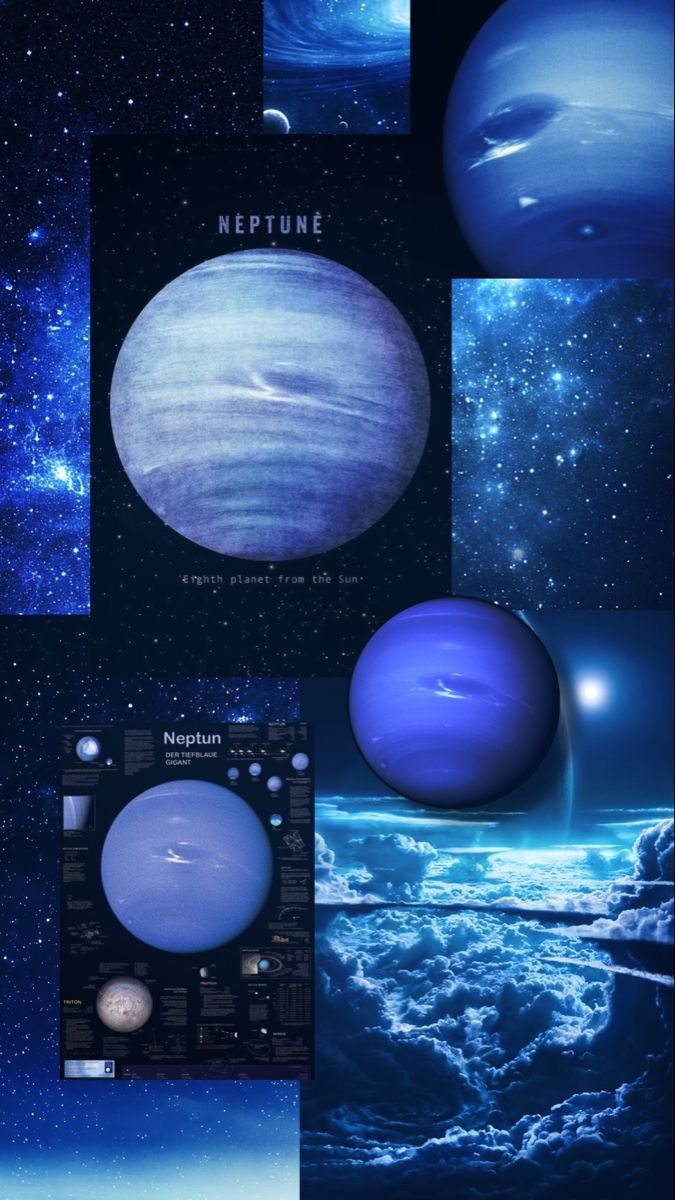 ✨Neptune Planet Wallpaper Aesthetic✨