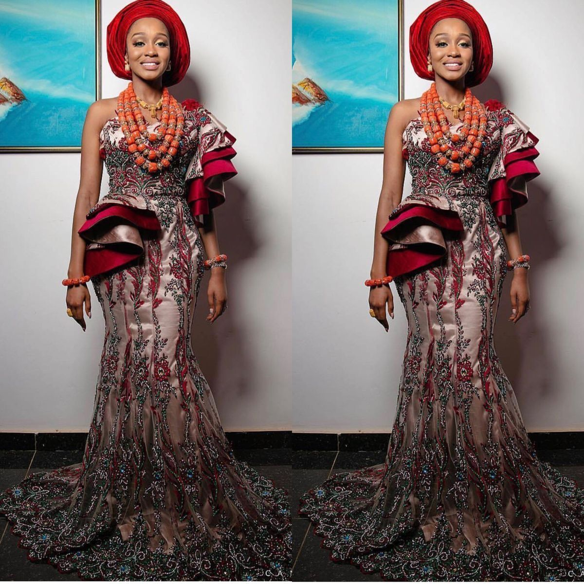 Pin by valice couture on african traditional wedding asoebi styles
