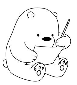 Riscos Graciosos Cute Drawings Riscos De Ursinhos Bears Teddy Bears And Pandas Teddy Bear Drawing Bear Drawing Doodle Drawings