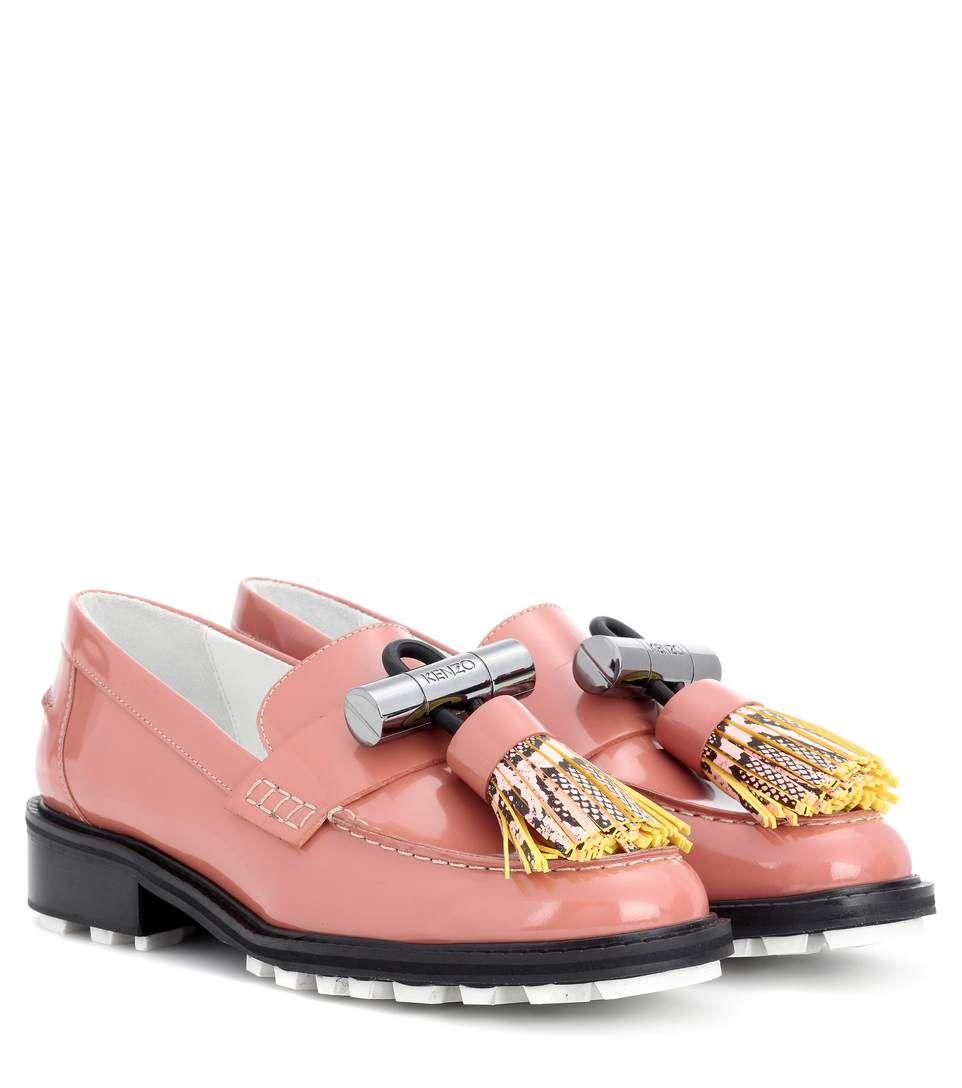 12e195404b9 KENZO Georgia patent leather loafers.  kenzo  shoes  loafers