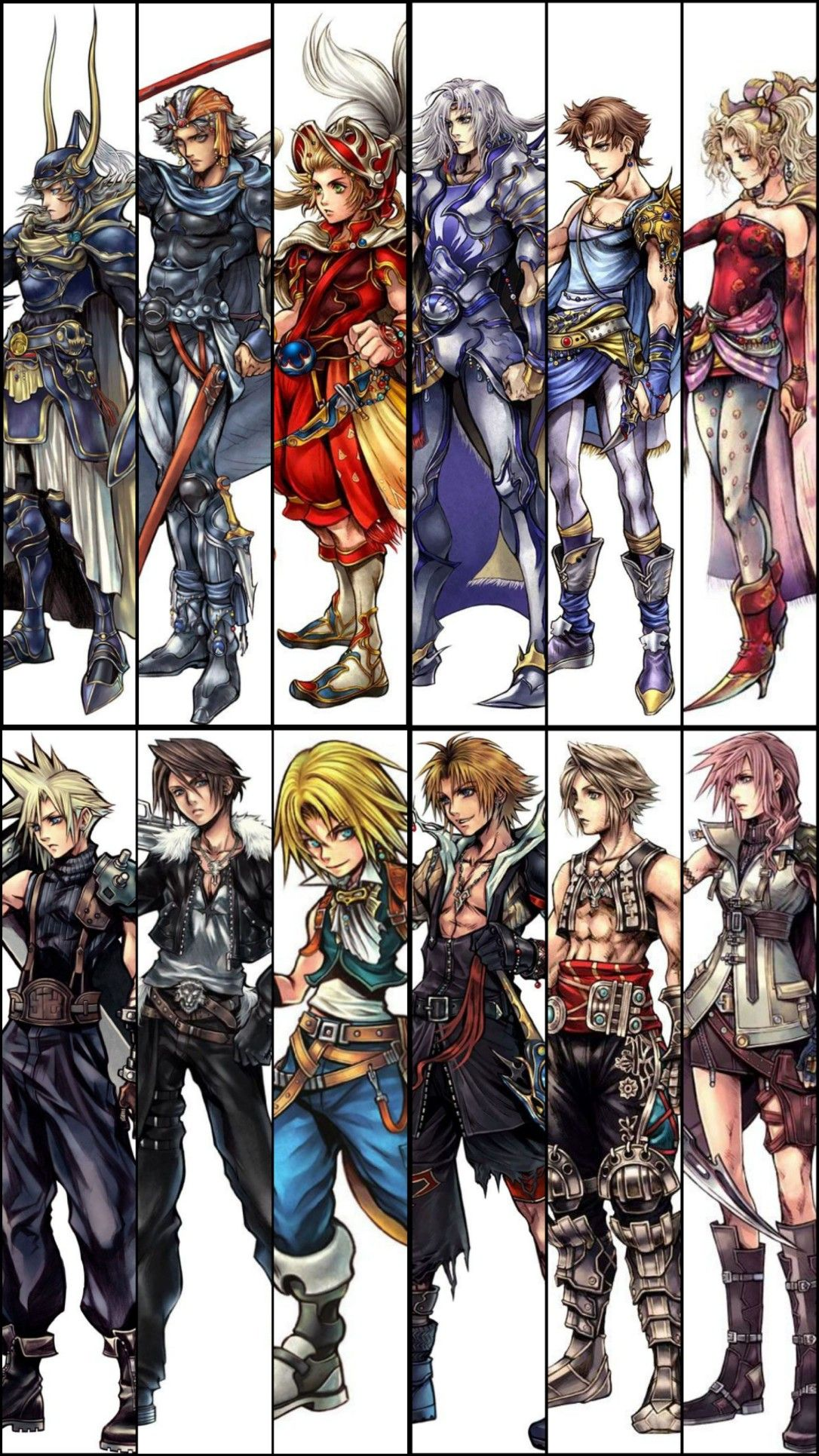 Final Fantasy 1 / I / FF1 - Character Classes