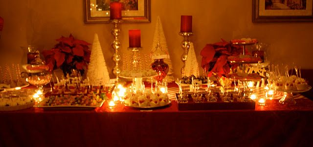 """My friend Deborah Anfuso-Giles REALLY knows how to throw a decadent party...this is her """"Candy Cane Christmas Party"""""""