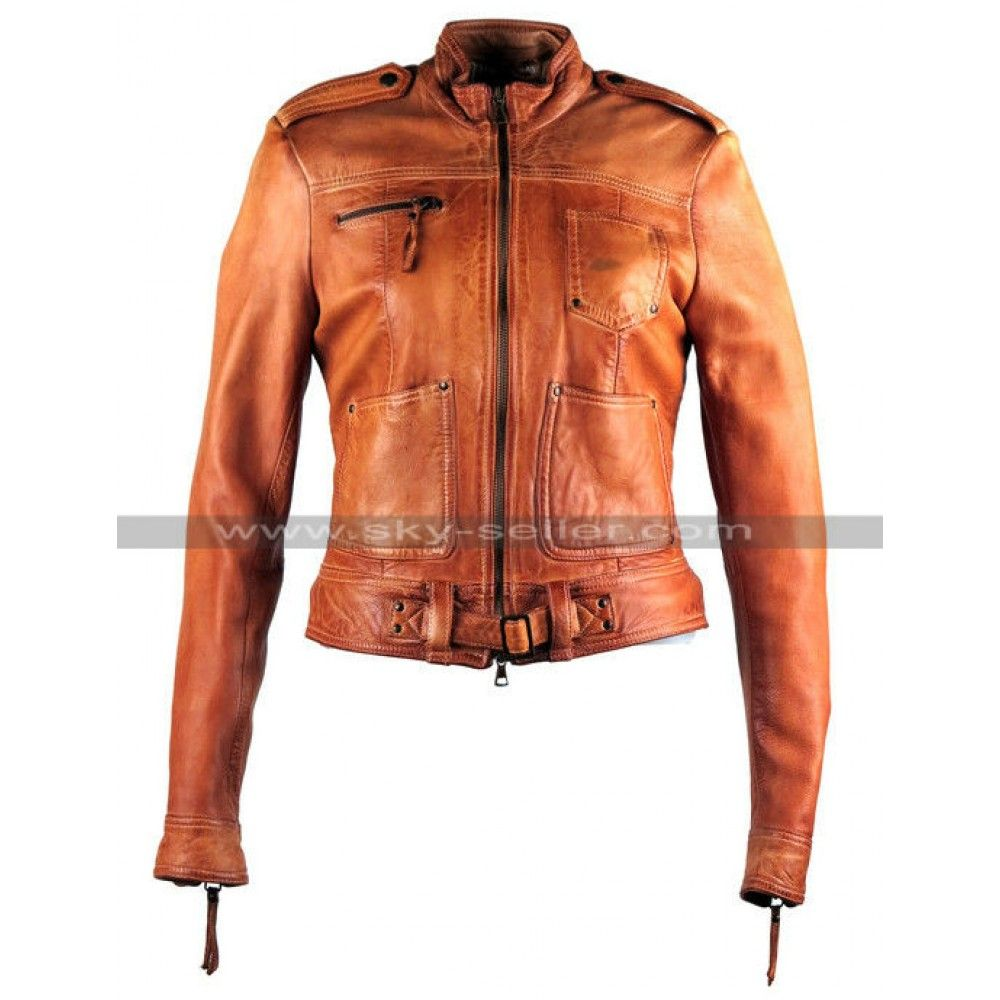 Once Upon A Time S4 Emma Swan Tan Leather Jacket Leather Jacket Tan Leather Jackets Brown Leather Jacket [ 1000 x 1000 Pixel ]