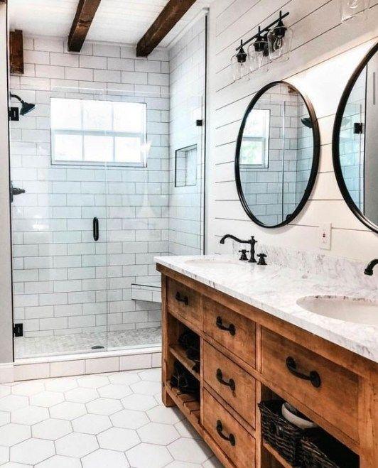 Easy Diy Bathroom Remodel Ideas On A Budget 02 Modern Farmhouse