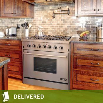 Nxr 36 Quot Stainless Steel Professional Style Gas Range At