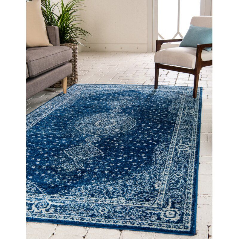 Pat Navy Blue Area Rug With Images Blue Area Rugs Navy Blue