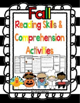 This is a fall themed version of my original Reading Skills and Comprehension Activities pack! It is full of fun and interesting stories that are all accompanied by an assortment of reading comprehension activities. Great for use in small group, reading centers, or independent practice!Check out Reading Skills and Comprehension Bundle Here!Check out the original version of this product!Check out the Winter themed version of this product!Download includes:- 5 original fall themed stories…