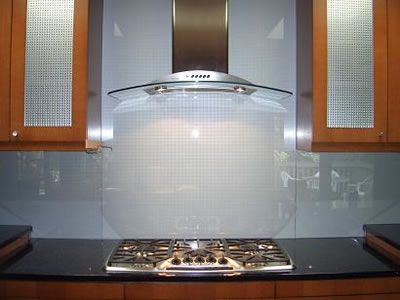 Also, we used tempered glass for our backsplash - Also, We Used Tempered Glass For Our Backsplash Kitchen Ideas
