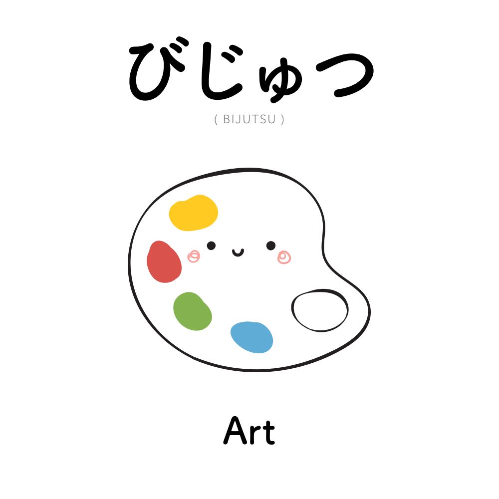 [293] びじゅつ   bijutsu   art