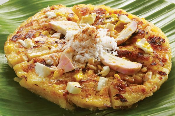 Kamayan bibingka (rice flour cake) | Food, Health food, Meals