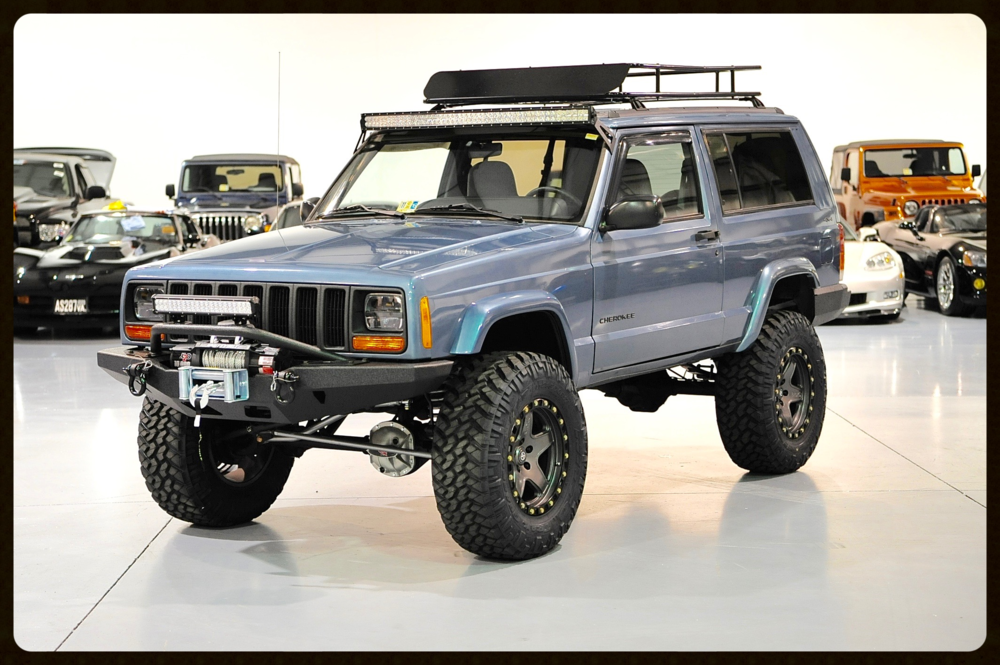 Gorgeous Stage 4 Build Very Rare 2 Door With A Ton Of Servicing Upgrades And Reconditioning Full 4 5 Lift And Much More Click For Jeep Cherokee Xj Jeep Cherokee Jeep Cherokee Sport