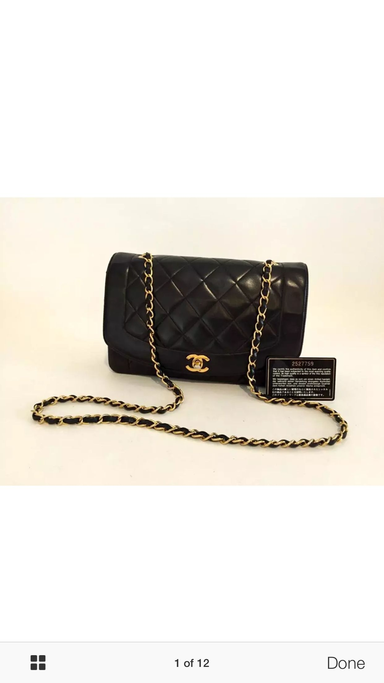 9241d9f4caf7 Authentic Chanel Classic single flap bag known as the