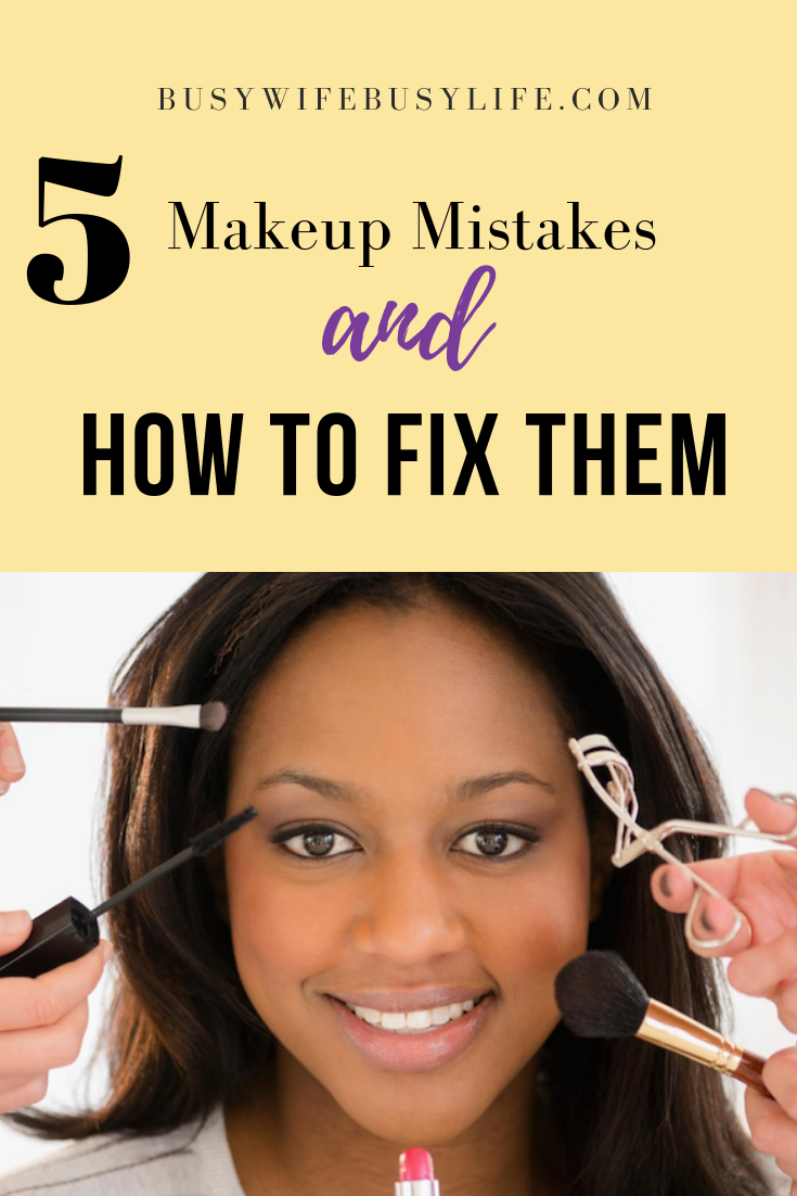 9 Makeup Mistakes You Are Making and How to Fix Them  Makeup tips