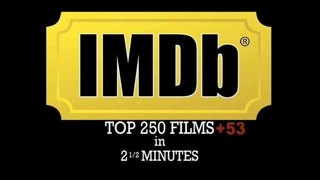 IMDb: Top 250 films in 2 1/2 minutes.