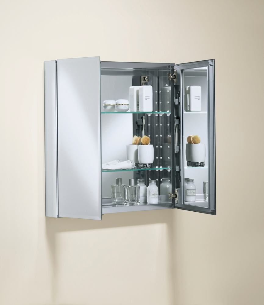 May decide on a recessed, mirrored medicine cabinet for tiny, 3rd ...