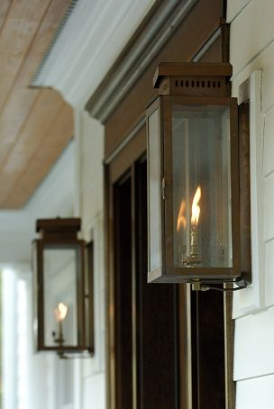 The single house copper lantern by carolina lanterns