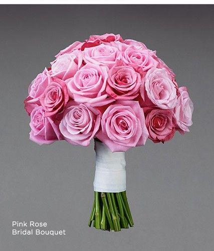 Pink Roses We Luv Flowers By Faith Florists Las Vegas Wedding